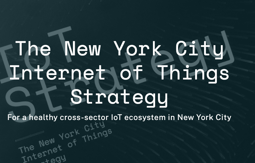 screenshot NYC IoT Strategy header